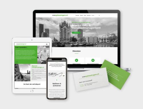 Website VVE Oplossingen